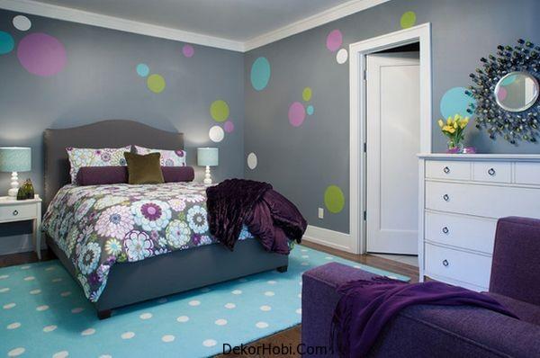 genç kız yatak odası5