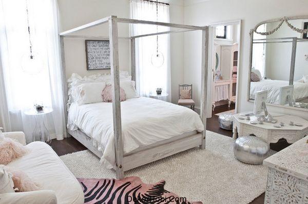 genç kız yatak odası7