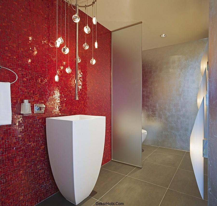 kırmızı banyo dekorasyonu2