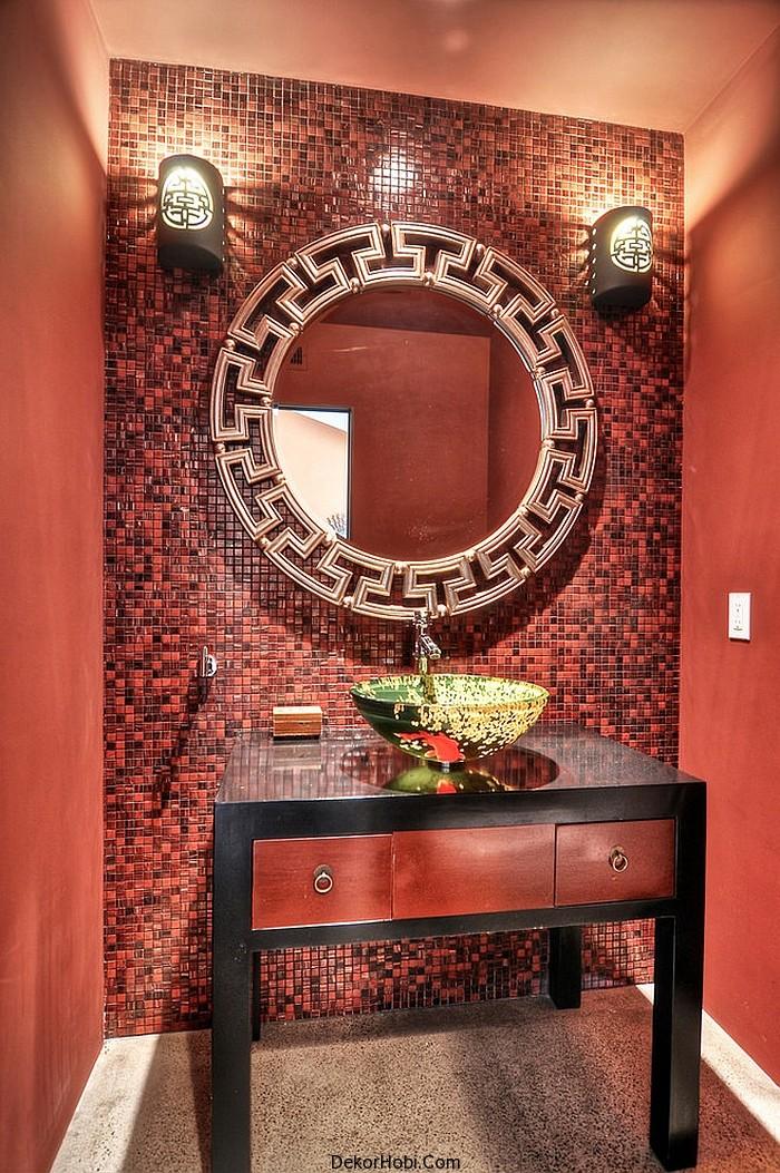 kırmızı banyo dekorasyonu5