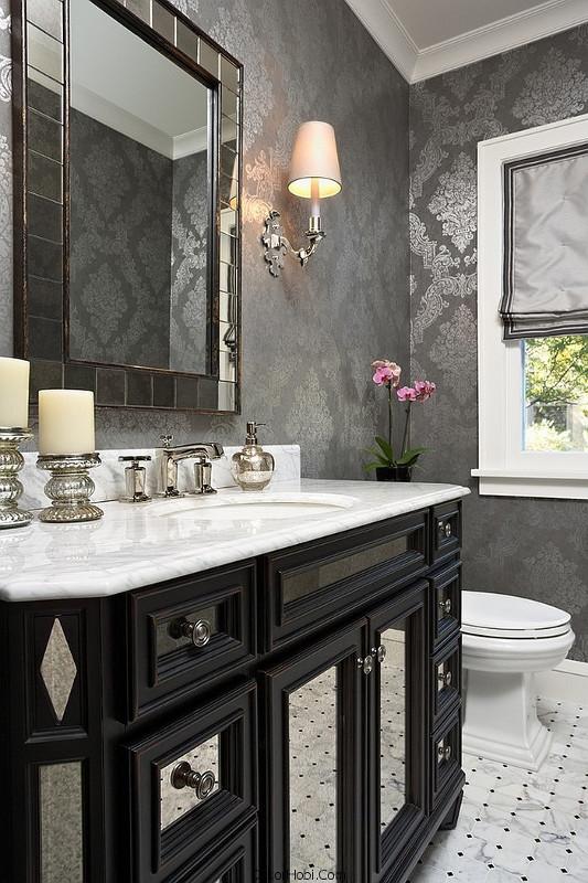 banyoda duvar kağıdı uygulamaları14