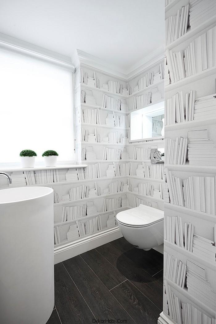 banyoda duvar kağıdı uygulamaları17