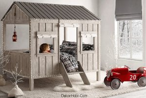 kulübeden yatak modeli1