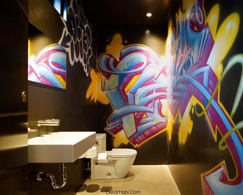 siyah renk banyo tasarımları5