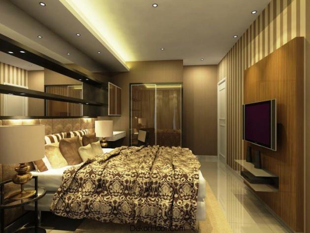 Yeni Küçük Yatak Odası Tasarımları