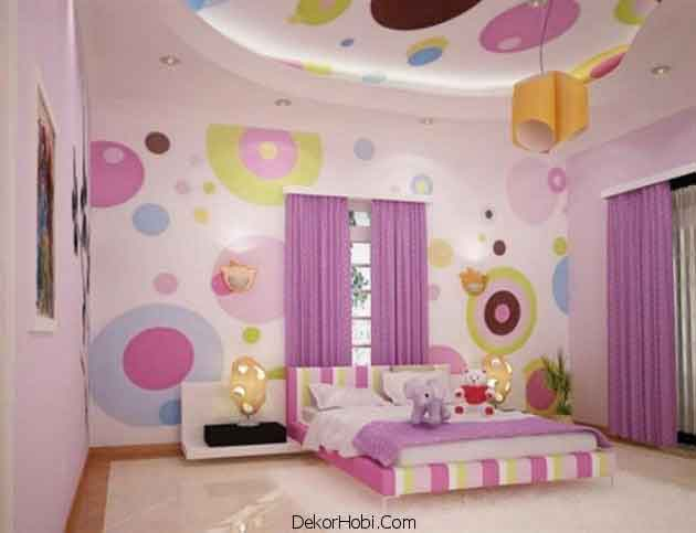 Kız Çocuk Odası Modelleri
