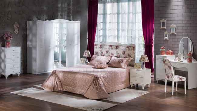 Mondi Mobilya Romantica Yatak Odası Takımı