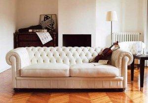 beyaz deri Chesterfield Koltuk modelleri