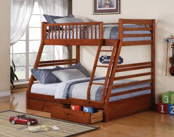 Çift kişilik ikiz ranza yatak