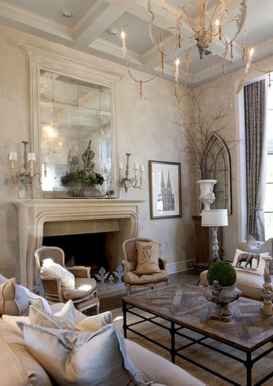 Fransız Oturma Odası Dekoru