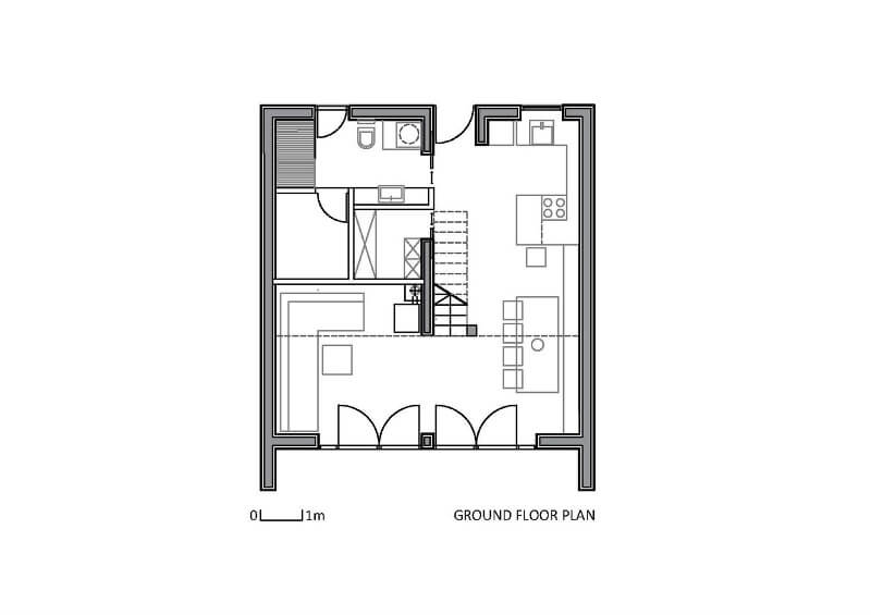 Küçük Ahşap Ev Planları 2
