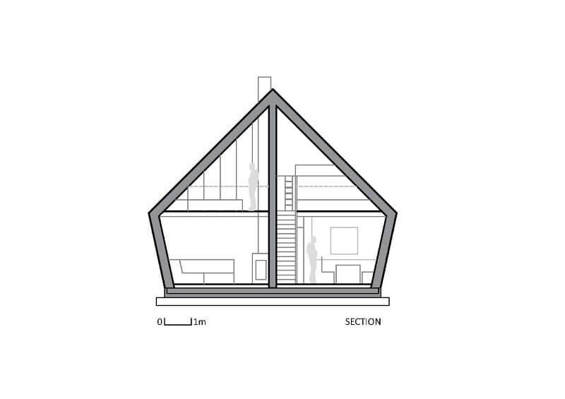 Küçük Ahşap Ev Planları 3