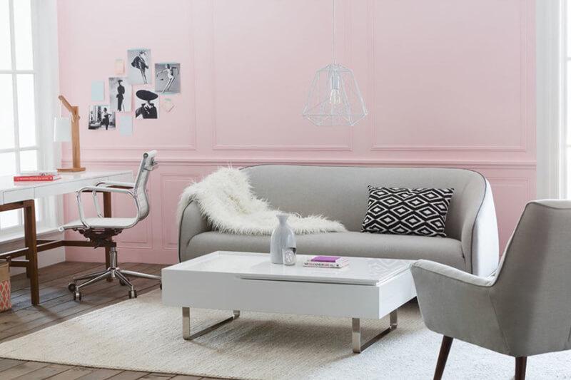 Pastel Renklerde Salonlar