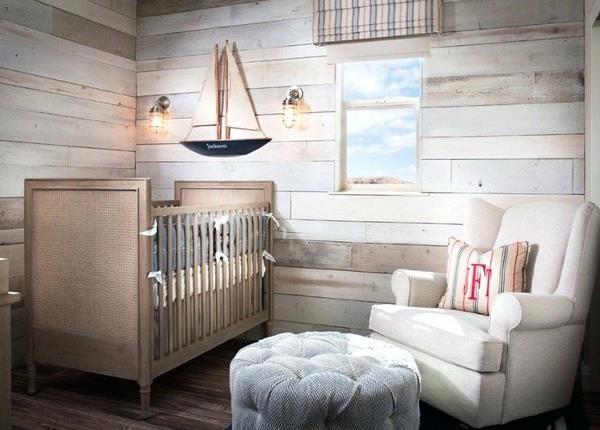 Erkek Bebek Odalarinda Deniz Temali Dekorasyon Fikirleri