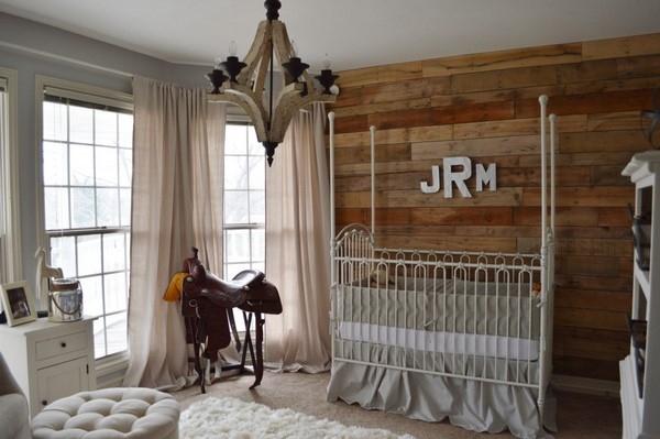Rustik Bebek Odasi Tasarim Fikirleri Renk Duzeni Mobilya Dekorasyon ve Aksesuar İpuclari