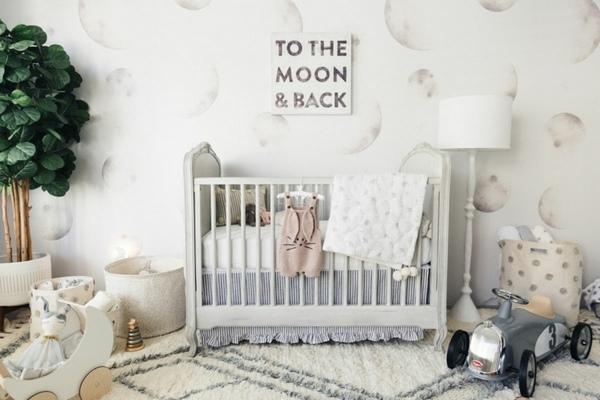 Rustik Stil Mobilyalarla Bebek Odası Duzenlemesi