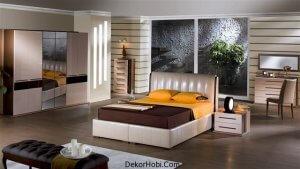 istikbal alvin yatak odasi