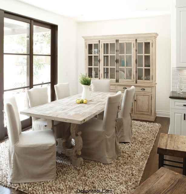 fransiz yemek odalari 5