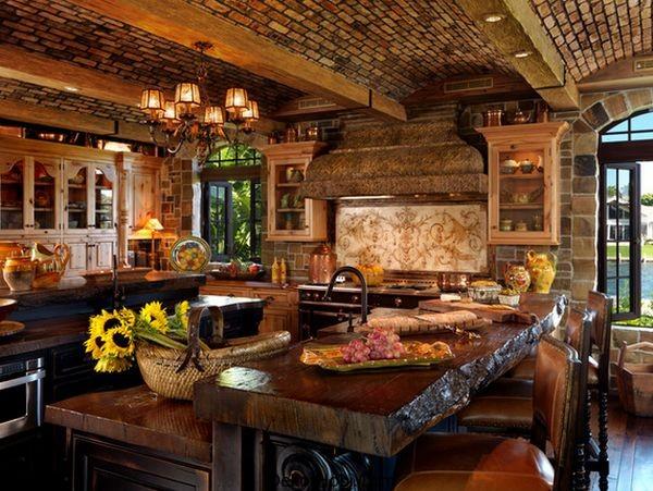 En Güzel 10 Rustik Mutfak Tasarımı 5