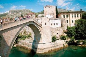 mostar köprüsü bosna