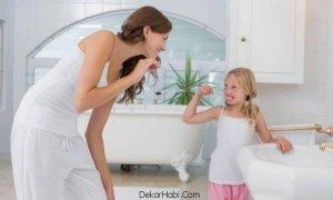 çocuklu aileler için banyo dekorasyonu1