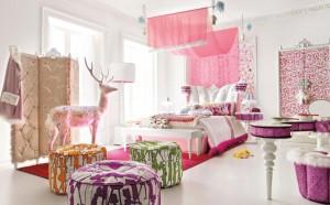 Dekoratif Genç Kız Odası Renkli 2