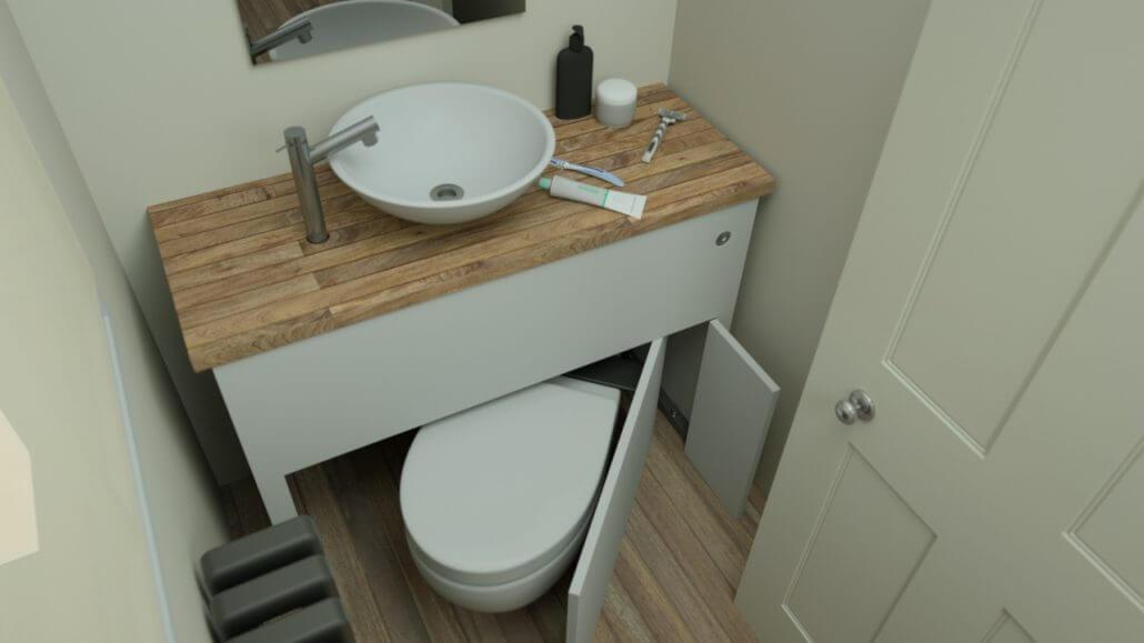 Kucuk Banyolarda Tuvalet Seçimi